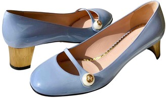 Gucci Arielle Blue Patent leather Heels