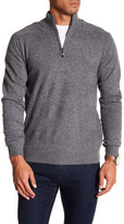 Qi Partial Zip Cashmere Sweater
