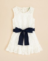 Bloomingdale's Lily Bleu Infant Girls' Lace Dress - Sizes 12-24 Months