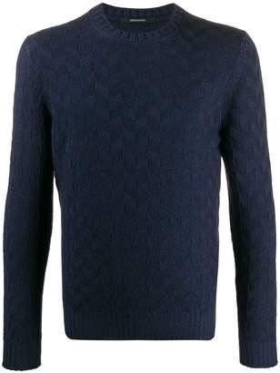 Tagliatore wool knitted jumper