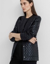 Club Monaco Glossy Quilted Jacket