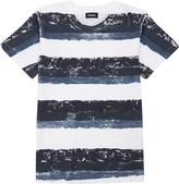 Diesel Paint stripe cotton t-shirt 6-16 years