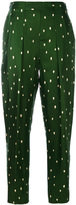 3.1 Phillip Lim polka dot tailored trousers - women - Silk - 2