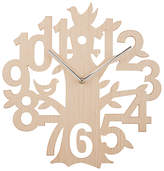 John Lewis Wooden Tree Clock, Natural