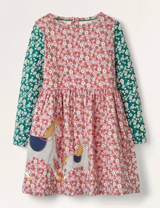Applique Hotchpotch Dress