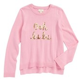 Kate Spade Girl's Ooh La La Sequin Sweater