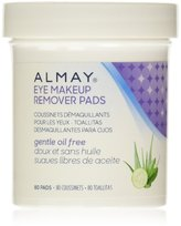 Almay Eye Makeup Remover Pads, Oil-Free 80 ea