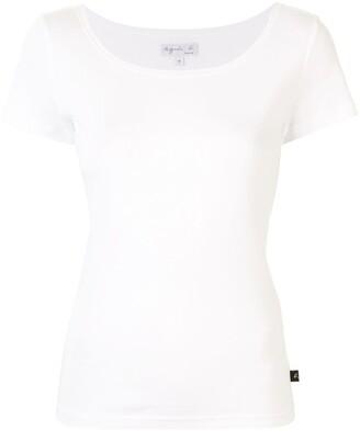 agnès b. Le Chic scoop neck T-shirt