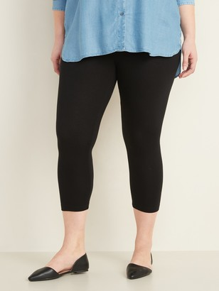 Old Navy High-Waisted Plus-Size Cropped Leggings