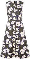 Marni Whisper print A-line dress - women - Cotton - 38