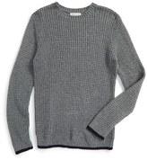Boy's Tucker + Tate Waffle Knit Sweater
