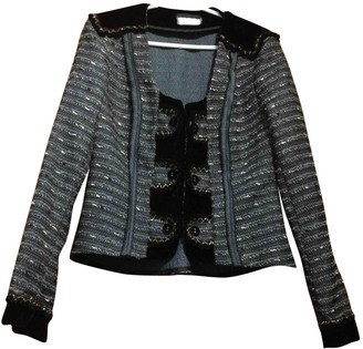 Anne Valerie Hash Multicolour Wool Jacket for Women
