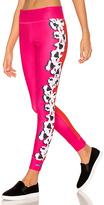 adidas by Stella McCartney Yoga Flower Tight in Fuchsia