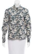 Cacharel Printed Long Sleeve Button-Up