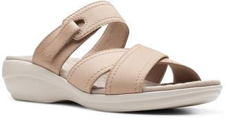 Clarks Collection Women Alexis Art Flat Sandals Women Shoes