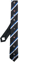 Valentino Garavani Valentino tattoo embroidered tie - men - Silk - One Size