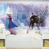 York Wall Coverings York Wallcoverings Disney's Frozen Removable Wallpaper Mural