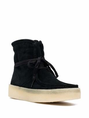 Clarks Originals Lace-Up Suede Ankle Boots