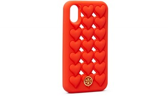 Tory Burch Hearts Silicone Phone Case Iphone X/Xs