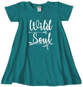 Urban Smalls Peacock 'Wild Soul' Swing Dress - Toddler & Girls