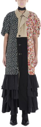Junya Watanabe Reversible Patchwork Maxi Dress