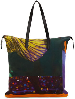 Dries Van Noten Multicolor Mika Ninagawa Edition Print Tote