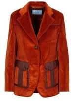 Prada Women's Red Cotton Blazer.