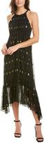 A.L.C. Rosa Silk-Blend Midi Dress