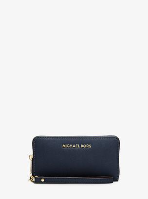 MICHAEL Michael Kors MK Travel Large Smartphone Wristlet - Acorn - Michael Kors