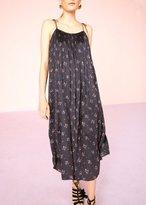 Ulla Johnson Mille Floral Print Dress Black
