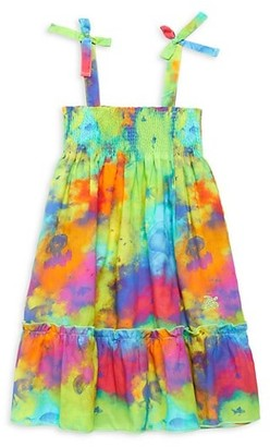 Vilebrequin Little Girl's & Girl's Printed Ruffle Dress
