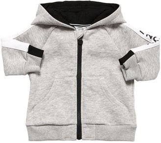 Givenchy Zip-up Cotton Sweatshirt Hoodie