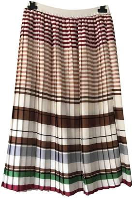 Harmony Multicolour Silk Skirt for Women