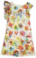 Junior Gaultier Toddler's, Little Girl's & Girl's Floral Printed Dress