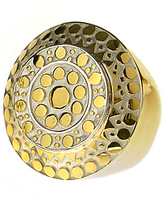 Layered Vermeil Cocktail Ring