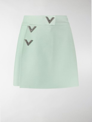 Valentino V buttons shorts
