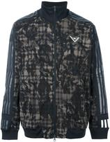 Adidas By White Mountaineering - Adidas x White Mountaineering pixel track top - men - Polyester - XL