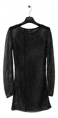 Alanui Black Glitter Dresses