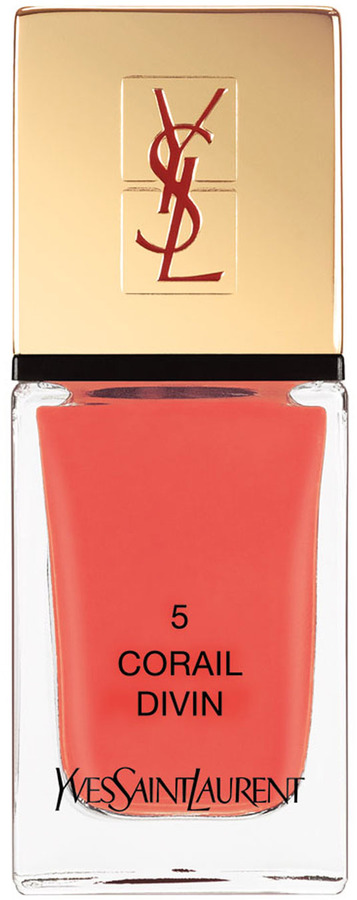 Yves Saint Laurent Beaute La Laque No5 Corail Divin