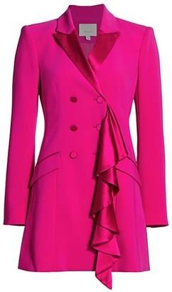 Cinq à Sept Carly Fringe Blazer Dress