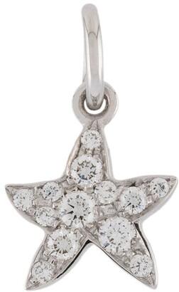 Dodo 18kt white gold So Happy To Have Found You Star diamond charm