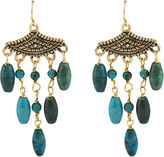 Barse FINE JEWELRY Art Smith by Turquoise Droplet Earrings