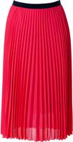 Paul Smith Black Pink Pleated Skirt