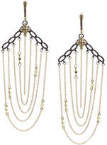 Armenta Old World Chain Earrings with Diamonds