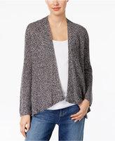 Eileen Fisher Organic Linen Asymmetrical Cardigan