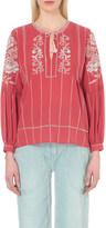 Ulla Johnson Flora cotton blouse