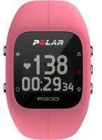 Polar Unisex A300 Bluetooth Activity Tracker Heart Rate Bundle Pink Chronograph Watch 90054243