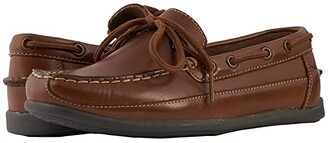 Florsheim Kids Jasper Tie Jr. (Toddler/Little Kid/Big Kid) (Saddle Tan) Boy's Shoes