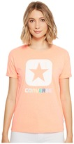 Converse Embroidered Box Star Easy Crew Tee