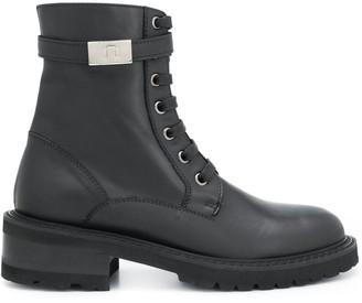 Paul Warmer Billy twist-lock military boots
